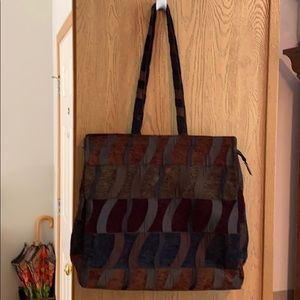 Roomy Tapestry Tote Bag